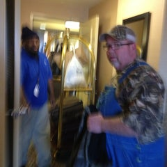 Photo taken at Hilton Shreveport by Rene P. on 2/10/2013