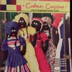Photo taken at Sophie's Cuban Cuisine by Ashish V. on 12/6/2012