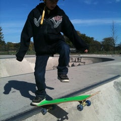 Photo taken at Wilson Skate Park by Angus R. on 10/17/2011