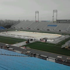 Photo taken at The Star Pavilion at Hersheypark Stadium by Mikeymike on 1/9/2013