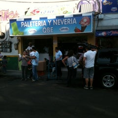 Photo taken at Helados QBE by Carlos Alberto B. on 12/23/2012