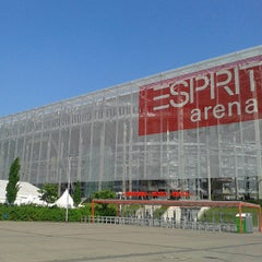Photo taken at ESPRIT arena by Angel T. on 5/20/2013