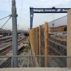 Photo taken at Ponte di Galliera by Teresa A. on 10/3/2013