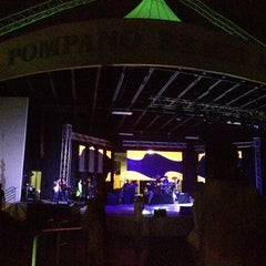 Photo taken at Pompano Beach Amphitheatre by Joao P. on 8/31/2013