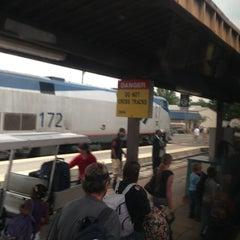 Photo taken at Richmond Amtrak Station (RVR) by Joe W. on 7/27/2013
