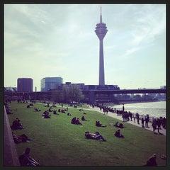 Photo taken at Rheinufer by Ralph R. on 4/20/2013