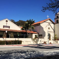 Photo taken at Mission San Buenaventura by Sean E. on 2/23/2013