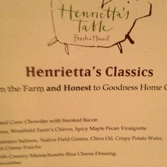 Photo taken at Henrietta's Table by EJ P. on 3/3/2013