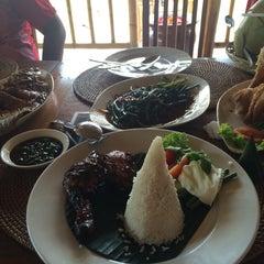 Photo taken at Gubug Makan Segara Bambu by Paul K. on 2/24/2015