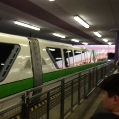 Photo taken at Monorail Green by Jonathan P. on 11/2/2012
