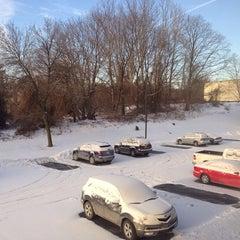 Photo taken at Crowne Plaza Philadelphia-Bucks County by Ivan C. on 1/29/2014