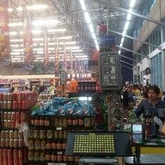 Photo taken at EURO Supermercado La Frontera by Juan O. on 12/15/2012