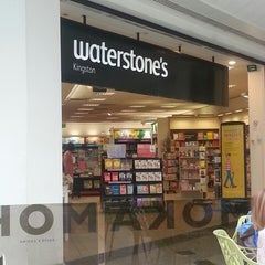 Photo taken at Waterstones by soefira j. on 8/7/2013