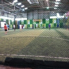 Photo taken at Planet Futsal by Marcel A. R. on 12/19/2012