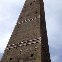 Photo taken at Torre Garisenda by stefano v. on 4/13/2013