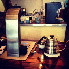 Photo taken at Prufrock Coffee by Oliver S. on 3/19/2013