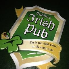 Photo taken at Dublin's Irish Pub by Twitter: @. on 1/20/2013