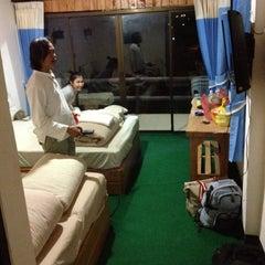 Photo taken at อ่างขางฮิลล์รีสอร์ต by Aey P. on 10/21/2012
