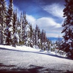 Photo taken at Whitefish Mountain Resort by Will C. on 1/22/2013