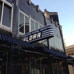 Photo taken at Flora Restaurant & Bar by Don K. on 10/21/2012