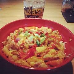Photo taken at Tokyo Joe's by Reid G. on 6/12/2014