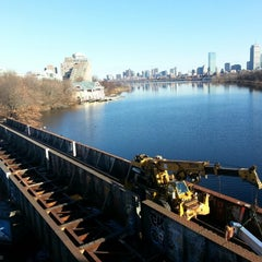 Photo taken at Boston University Bridge by Joe F. on 12/15/2012