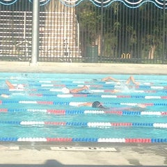 Photo taken at El Cariso Swimming Pool by Kristin T. on 6/24/2014