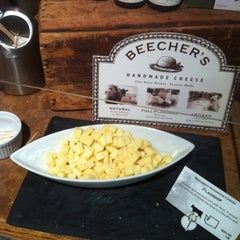 Photo taken at Beecher's Handmade Cheese by Katie C. on 10/24/2012