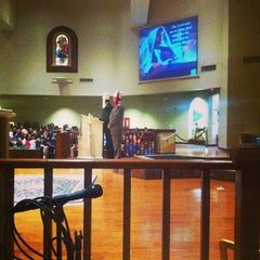 Photo taken at Holy Spirit Catholic Parish of McAllen by Monica G. on 1/27/2013