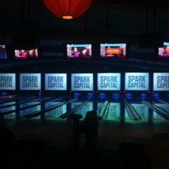 Photo taken at Lucky Strike Lanes by Jeff S. on 11/15/2012