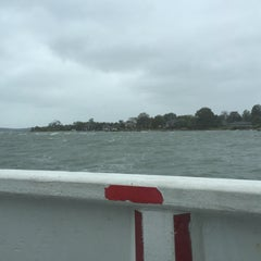 Photo taken at Shelter Island North Ferry - Greenport Terminal by michele j. on 10/3/2015