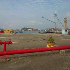 Photo taken at Pulau Sambu by Bonnie W. on 2/12/2014