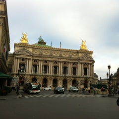Photo taken at Place de l'Opéra by Natalia F. on 11/11/2012