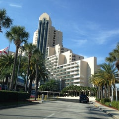 Photo taken at Orlando World Center Marriott by Anne T. on 11/24/2012