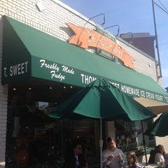 Photo taken at Thomas Sweet Ice Cream Co. by Brooks S. on 4/6/2013