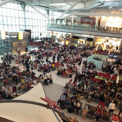 Photo taken at London Heathrow Airport (LHR) by Jamal A. on 7/12/2013