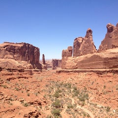 Photo taken at Arches National Park by Kevin L. on 5/26/2013