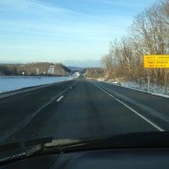 Photo taken at Interstate 81 by Joe🍀 on 3/17/2013