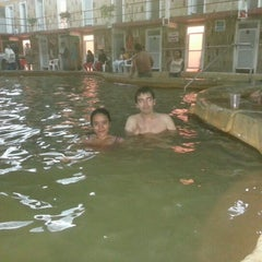 "Photo taken at Balneario Municipal ""El Bañito"" by Tonatiuh M. on 12/30/2012"