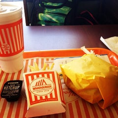 Photo taken at Whataburger by May T. on 3/18/2014