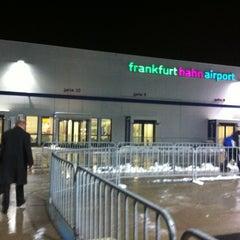 Photo taken at Frankfurt Hahn Airport (HHN) by Andrew E. on 2/6/2013