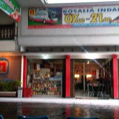 Photo taken at Pool Rosalia Indah by Widi P. on 12/27/2012