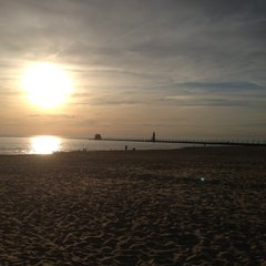 Photo taken at Grand Haven State Park by Jeff H. on 5/5/2013