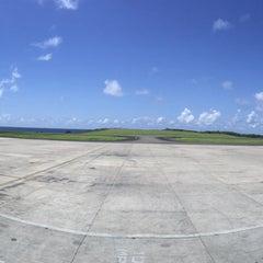 Photo taken at Maurice Bishop International Airport by Jadine F. on 9/1/2015