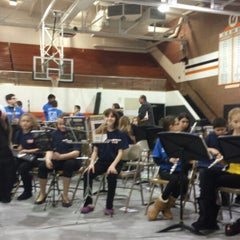 Photo taken at Utica High School by Steve O. on 2/25/2014