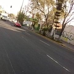 Photo taken at Crucero Ermita y Rojo Gómez by Tania D. on 11/6/2014