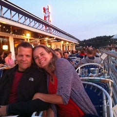 Photo taken at Ray's Boathouse by Aaron C. on 9/5/2011