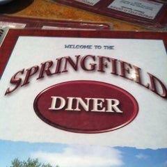 Photo taken at Springfield Diner by Stacy R. on 4/29/2012