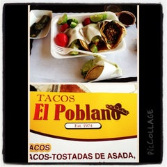 Photo taken at Tacos El Poblano by Laffy619 on 4/7/2013