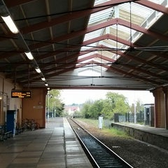 Photo taken at Frome Railway Station (FRO) by Peter J. on 4/29/2014